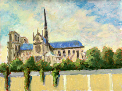 Title: Cathedral , Size: 12x16 , Medium: Oil on Canvas , Price: $575