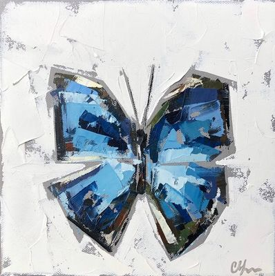 Christie Younger - Blue Morpho No. 1