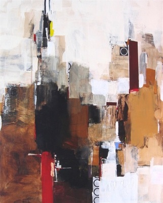 Charlotte Foust - Pinnacle - Acrylic on Canvas - 60x48