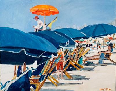 Larry Dean - Cherry Grove - Oil on Canvas - 24x30