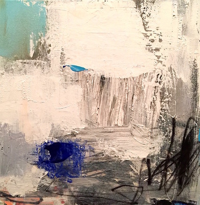 Charlotte Foust - Foundation - Acrylic on Canvas - 12x12