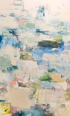 Charlotte Foust - Low Country - Acrylic on Canvas - 48x30