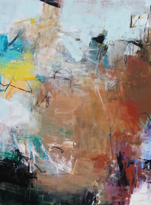 Charlotte Foust - Sienna - Acrylic on Canvas - 40x30