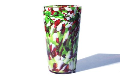 Title: Pint Glass - Holiday Mix , Medium: GLASS