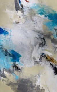 Charlotte Foust - Light As Air - Acrylic on Canvas - 48x30