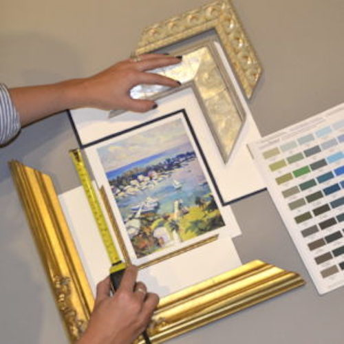 Framing Services layout