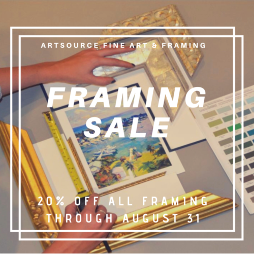 framing sale